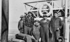 non-Cree skipper with Cree workers